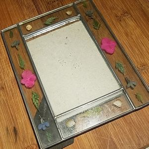 Accents - Vintage Pressed Flowers Photo Frame